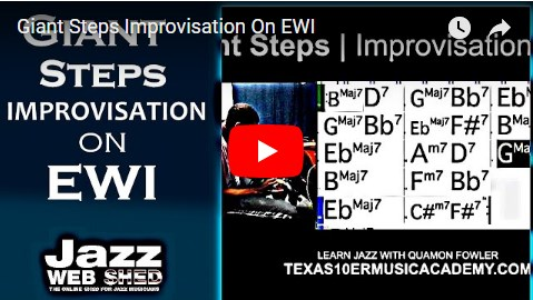 Giant Steps Improvisation On EWI