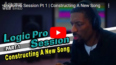 Logic Pro Session Pt 1 | Constructing A New Song