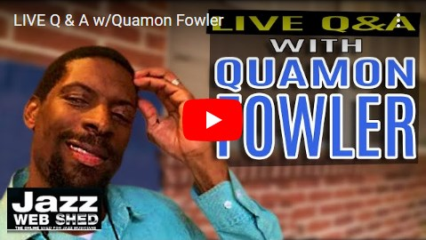 LIVE Q & A w/Quamon Fowler