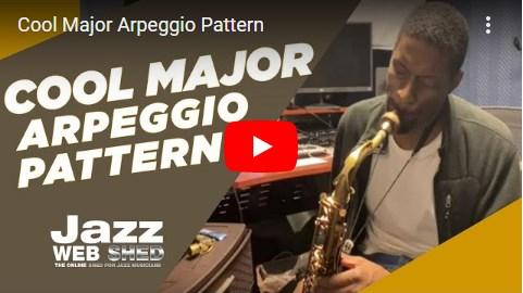 Cool Major Arpeggio Pattern