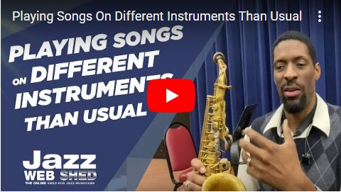 Playing Songs On Different Instruments Than Usual