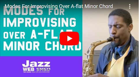 Modes For Improvising Over A-flat Minor Chord