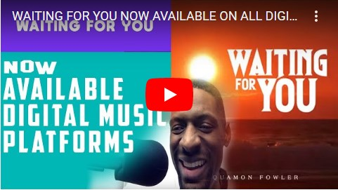 WAITING FOR YOU NOW AVAILABLE ON ALL DIGITAL MUSIC PLATFORMS