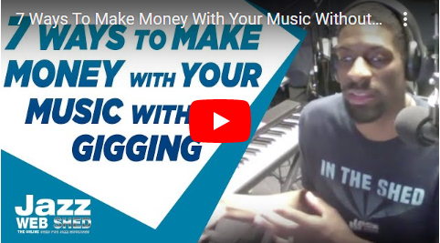 7 Ways To Make Money With Your Music Without Gigging
