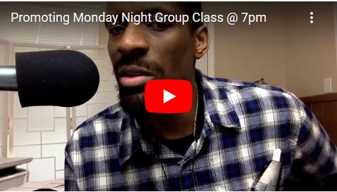 Promoting Monday Night Group Class @ 7pm