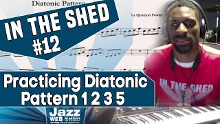 IN THE SHED #12 – Practicing Diatonic  Pattern 1 2 3 5