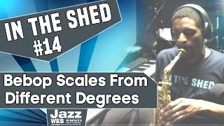 In The Shed #14 – Bebop Scales From Different Degrees