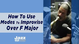 How To Use Modes To Improvise Over F Major