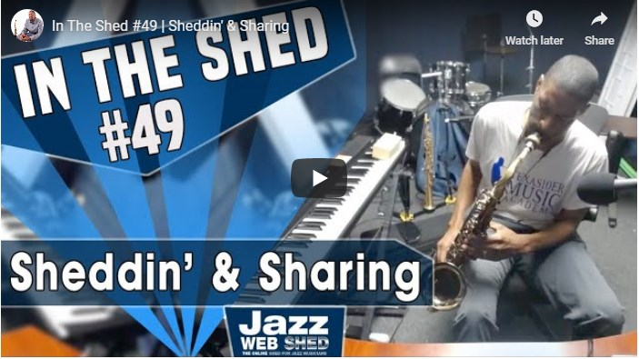 In The Shed #49 | Sheddin' & Sharing