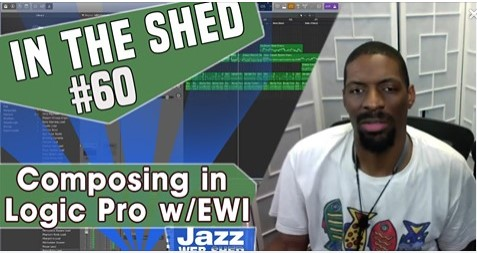 In The Shed #60 | Composing in Logic Pro w/EWI
