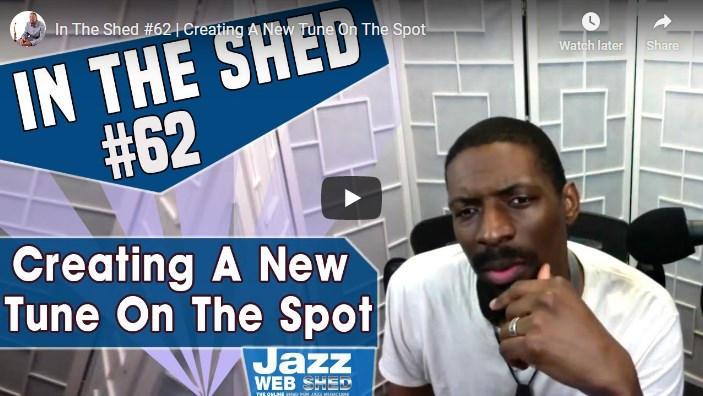 In The Shed #62 | Creating A New Tune On The Spot