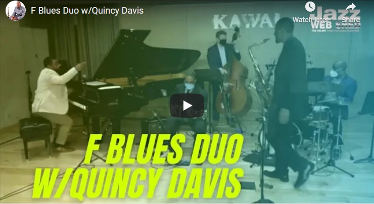 F Blues Duo w/Quincy Davis