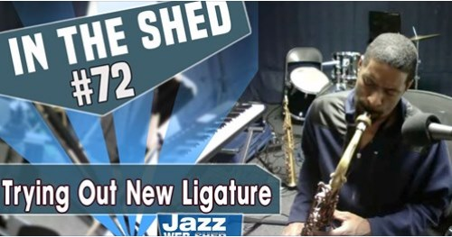 In The Shed #72 | Trying Out New Ligature